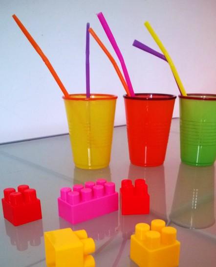 verres de couleur Babou