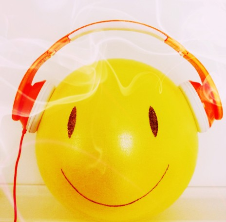 smiley casque audio