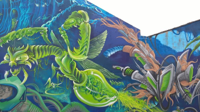 graffiti docks de Lorient