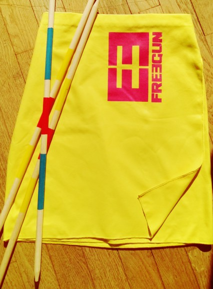 jupe sporty jaune