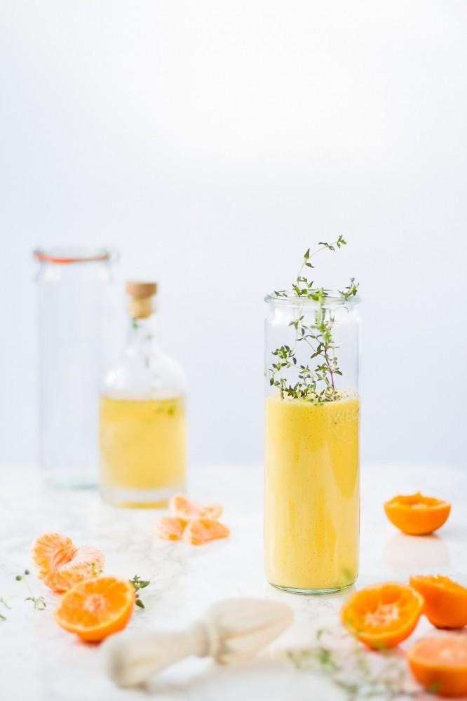 smoothie à la clémentine