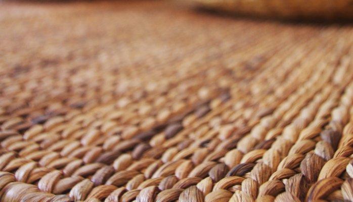 Panière en jacinthe d'eau